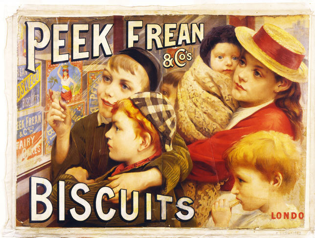 POSTER: Peek Frean & Co's Biscuits