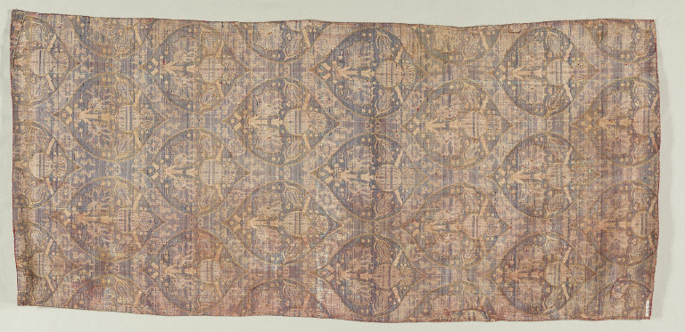 Silk and Gold Brocade Fragments