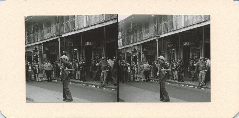 Dancer on Bourbon Street