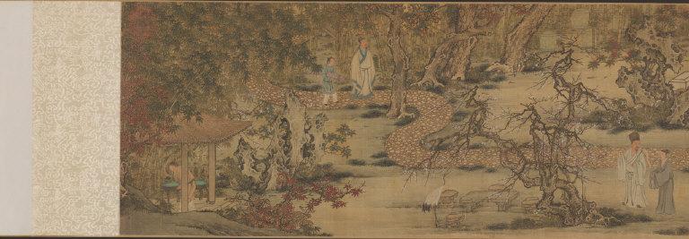 The Nine Elders of the Mountain of Fragrance