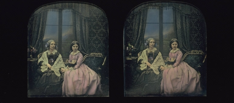 Mrs. Hamilton and her Daughter Frances Mary