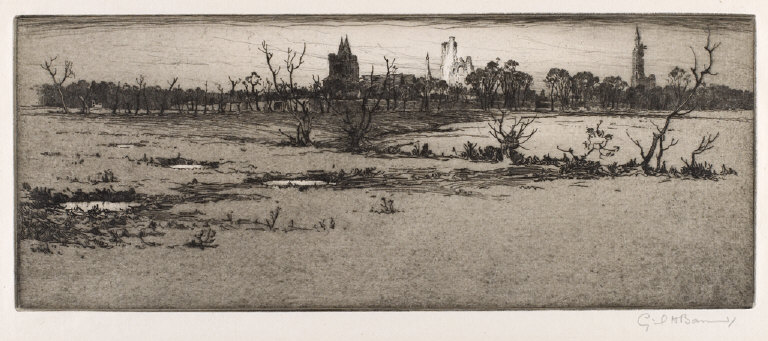 Ypres from Bund Dugouts