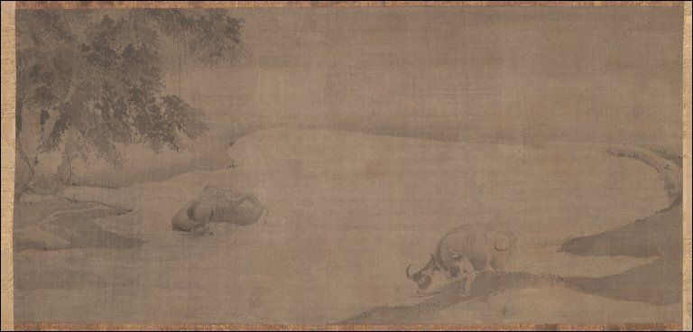 Water Buffalo and Herdboys