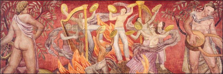 Allegory of Music: Ecstasy