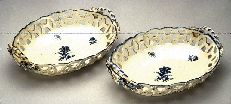 Pierced basket