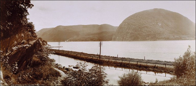 Entrance to the Highlands, Hudson River