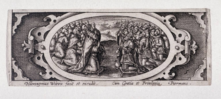 Miniature plate of Life of the Virgin (Plate 5)