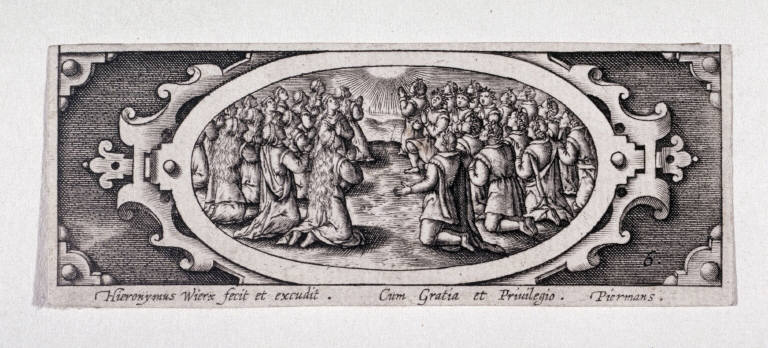 Miniature plate of Life of the Virgin (Plate 6)