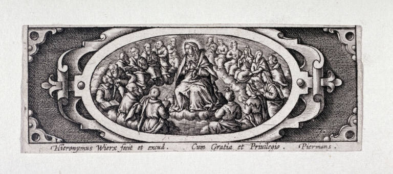 Miniature plate of Life of the Virgin (Plate 7)