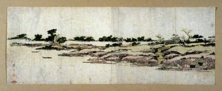 The Mimeguri Embankment of the Sumida River