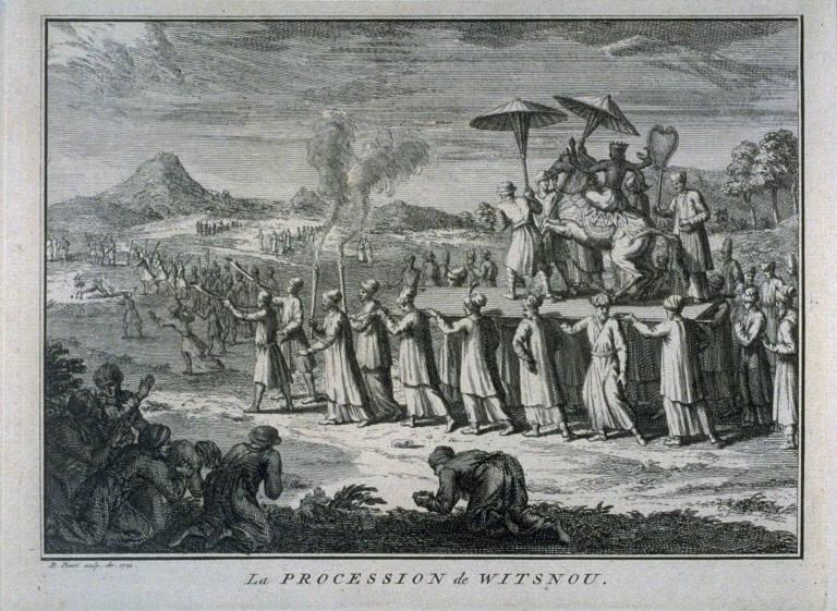 La Procession de Witsnou