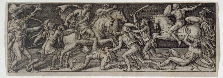 Combat d'Achille et d'Hector