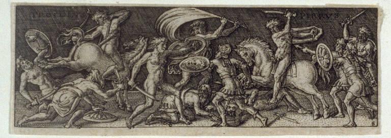 Combat de Pyrrhus et de Troile