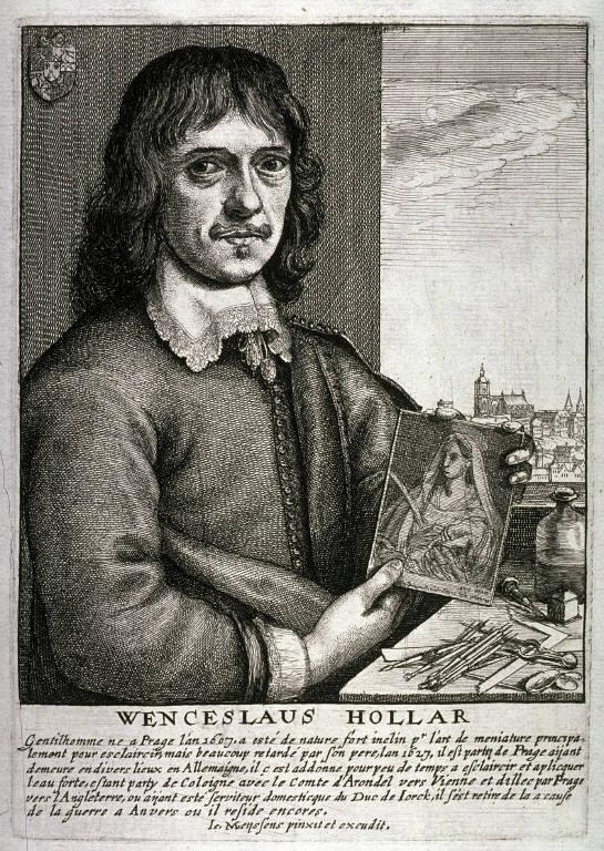 Portrait of Wenceslaus Hollar