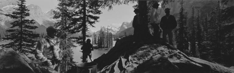 Tourists, Jasper, 1974
