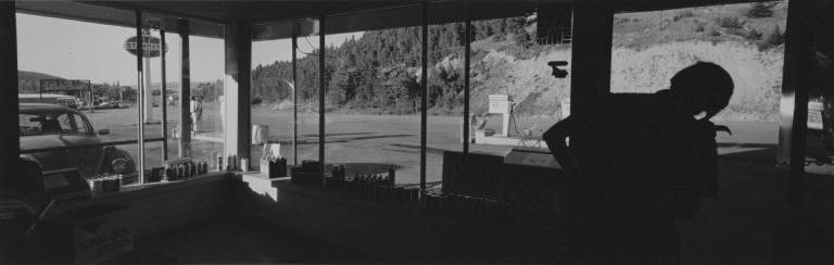Service Station, St. Mary, Montana, 1975
