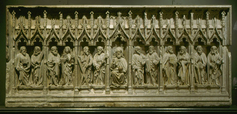 Christ and the Twelve Disciples