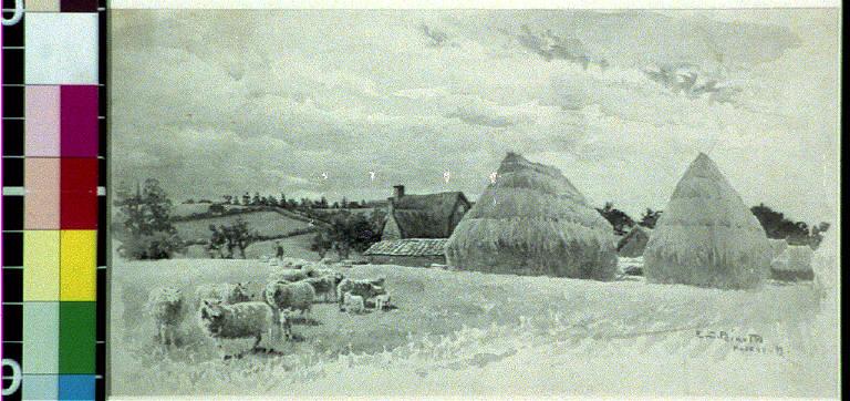 On the Naseby Battlefield, looking toward Mill Hill