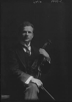 Elman, Mischa, portrait photograph