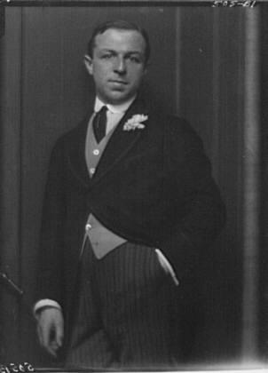 Beaufort, Count de, portrait photograph