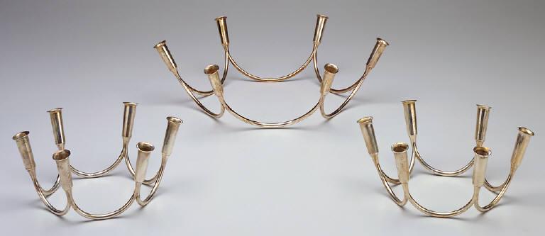 Group of three candlesticks