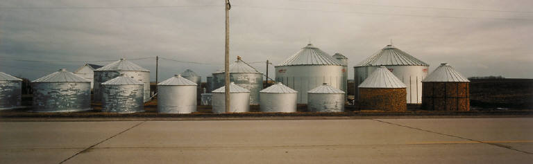 Corn Cribs, Freeborn County, Minnesota