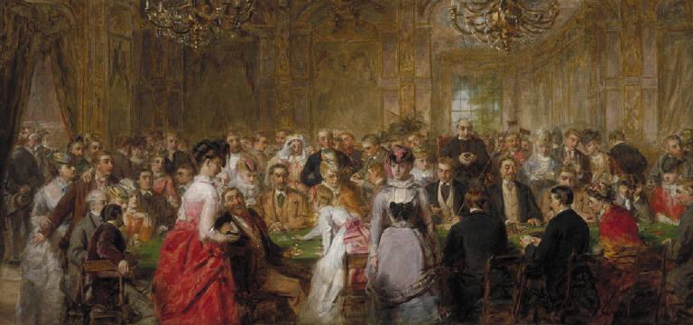 The Salon d'Or, Homburg