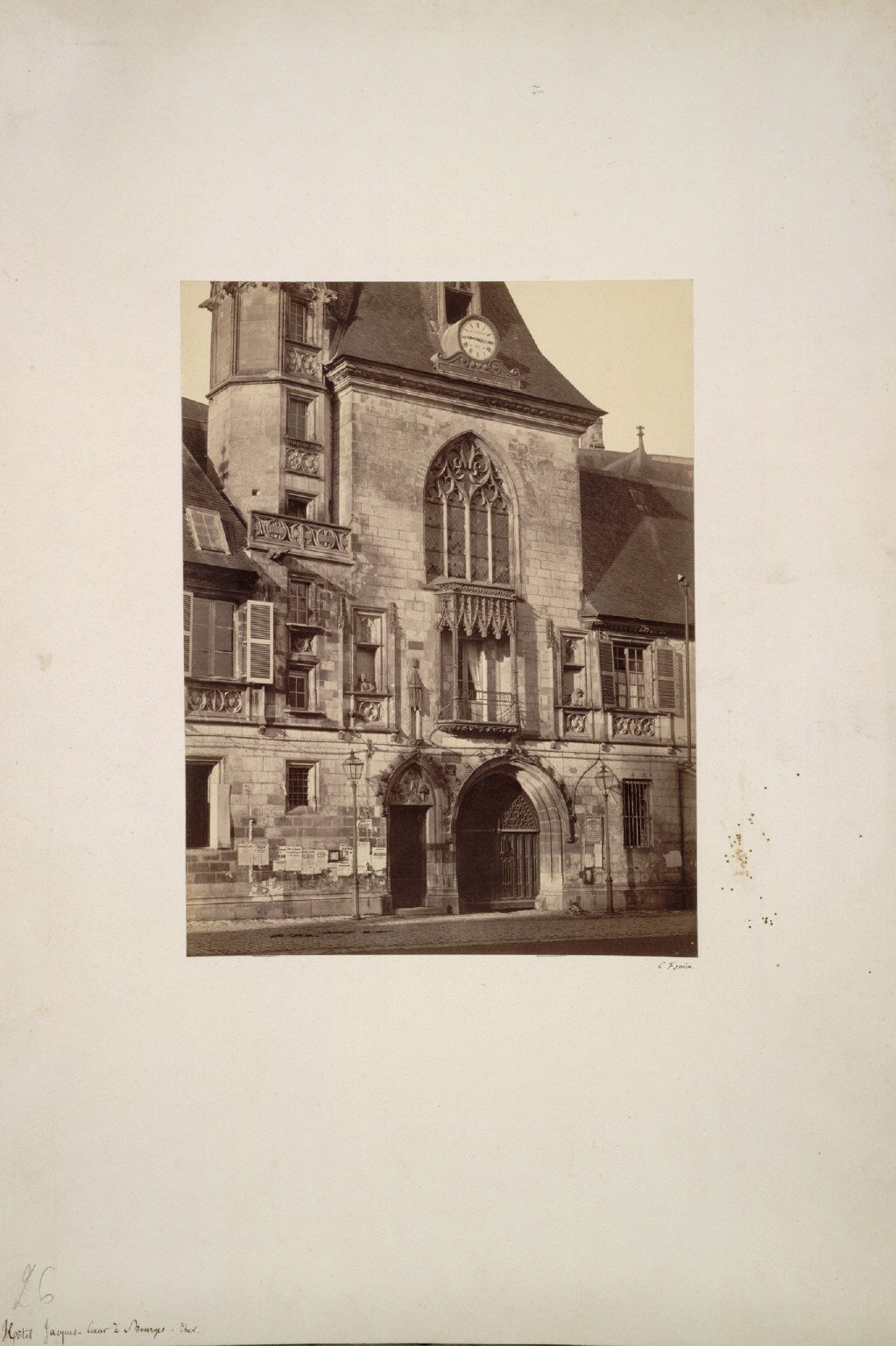 Hotel Jacques Coeur at Bourges