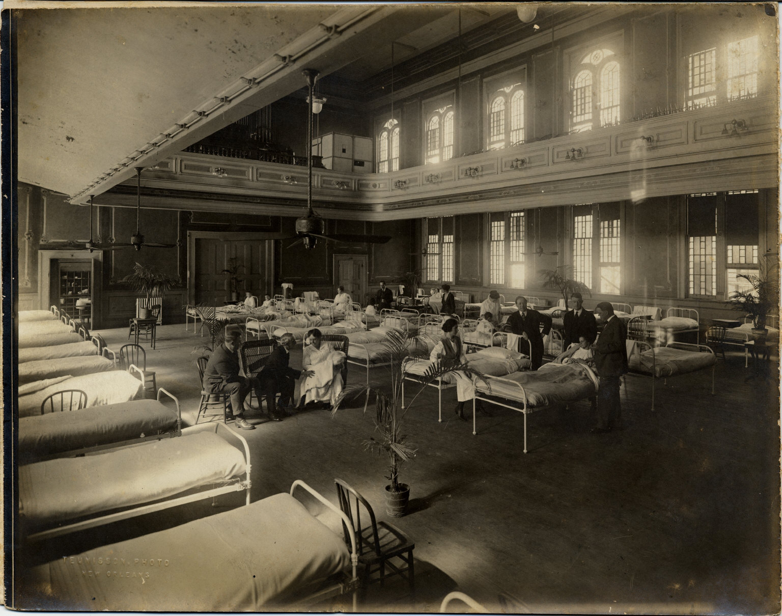 Knights of Columbus Hall used during epidemic of influenza