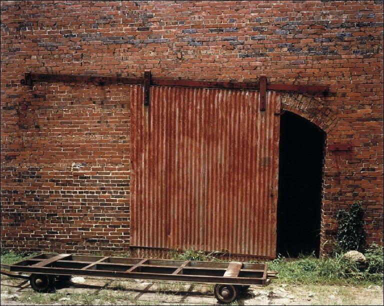 Cotton Warehouse Door with Cart--Selma, Alabama