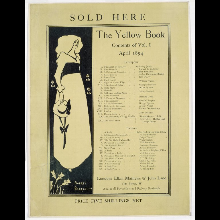 POSTER for 'The Yellow Book'