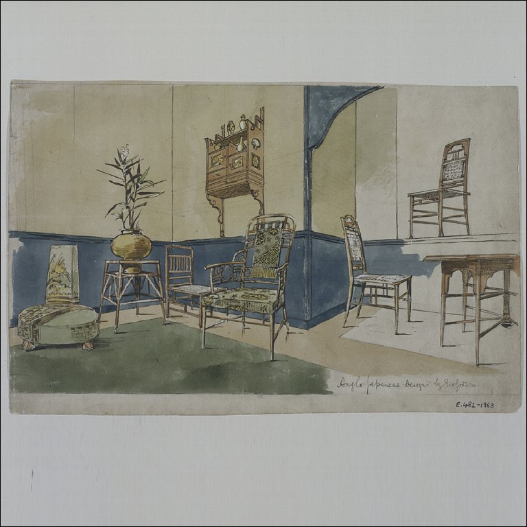DESIGN FOR JAPANESE-STYLE FURNITURE