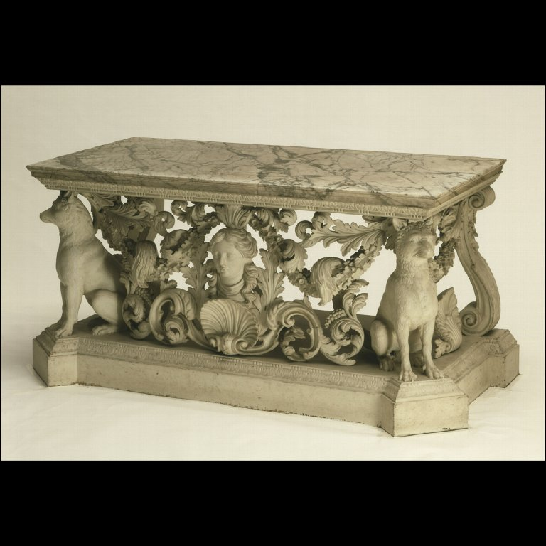 SIDE TABLE from Longford Castle, Wiltshire