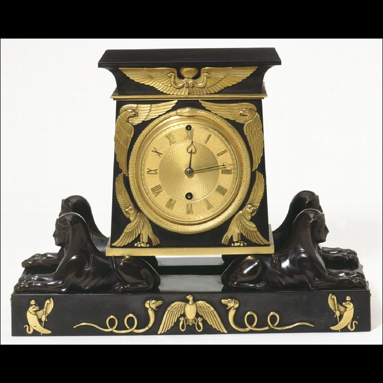 CLOCK in the Egyptian style