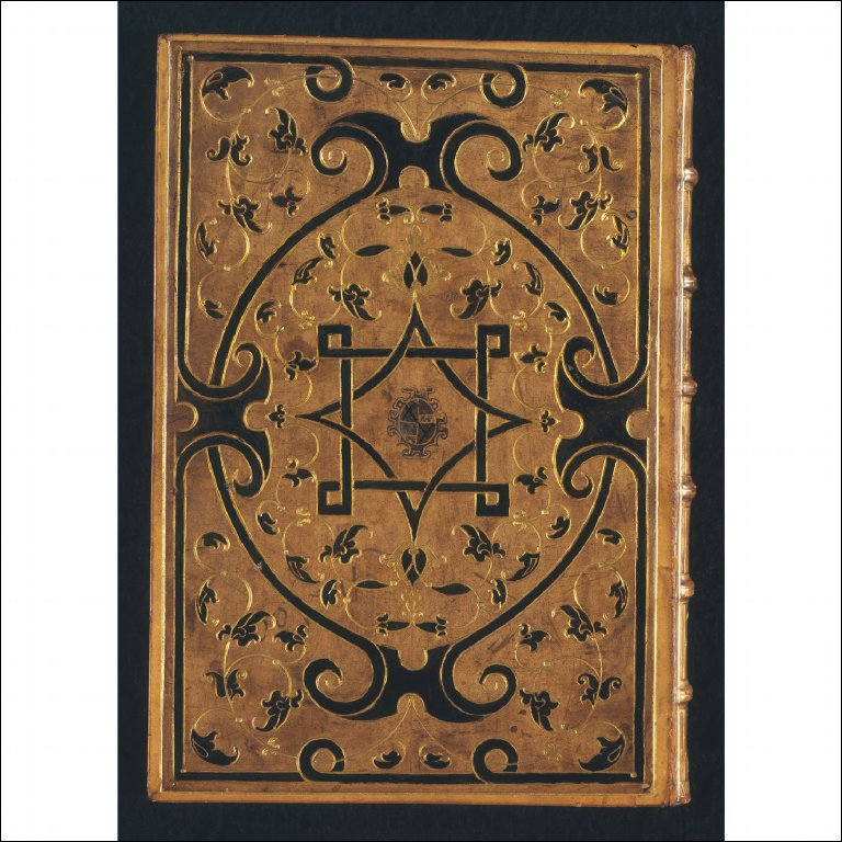 LEATHER BINDING with Moresque decoration