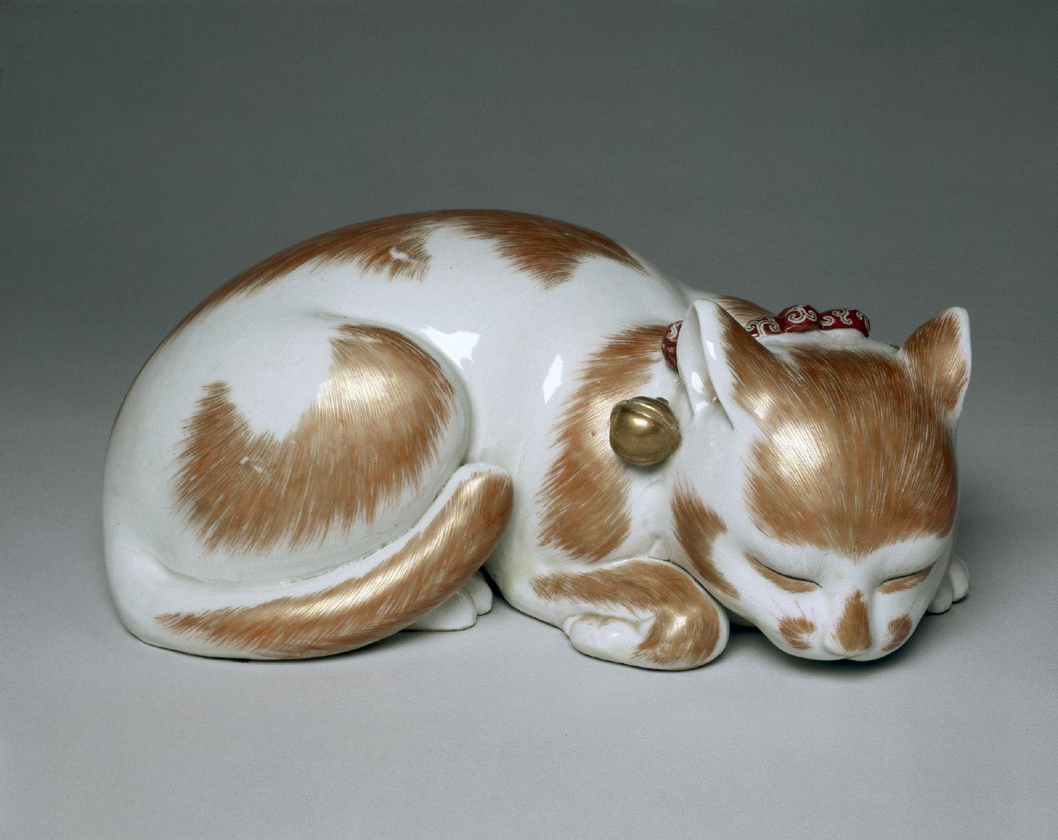 Sleeping Cat: Ko Imari Type