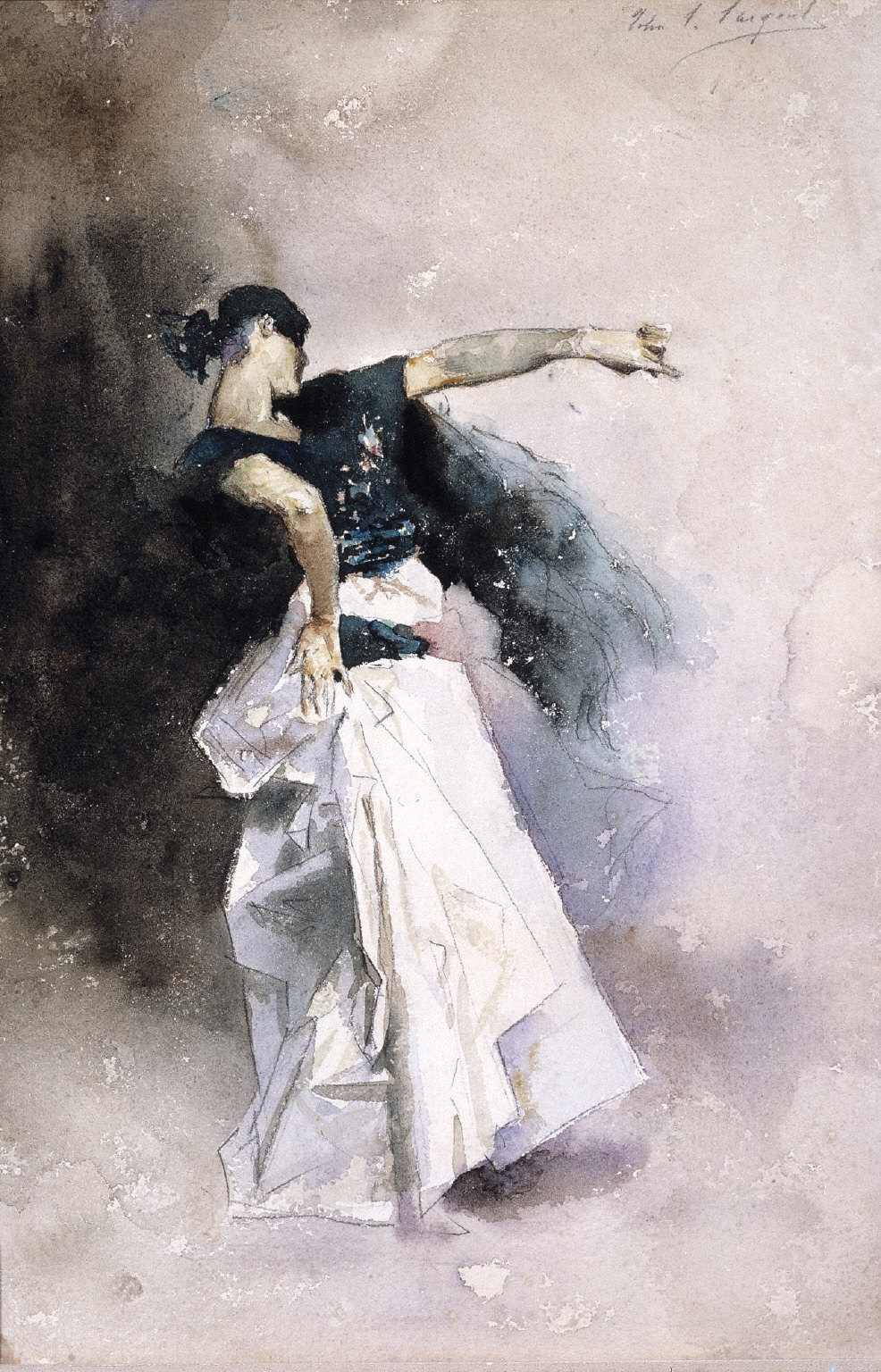 Study for The Spanish Dancer