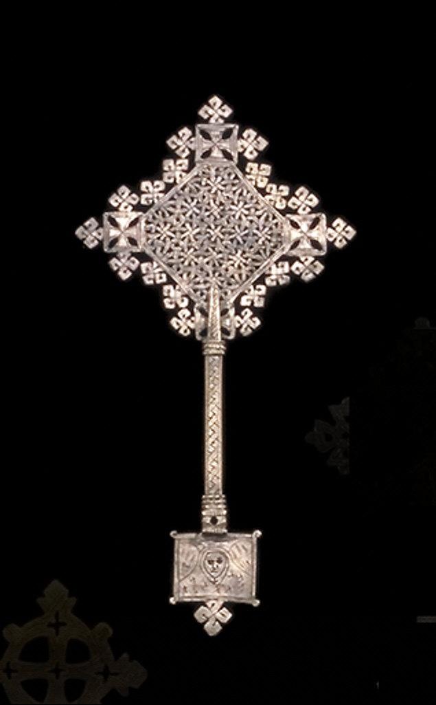 Hand-held Cross