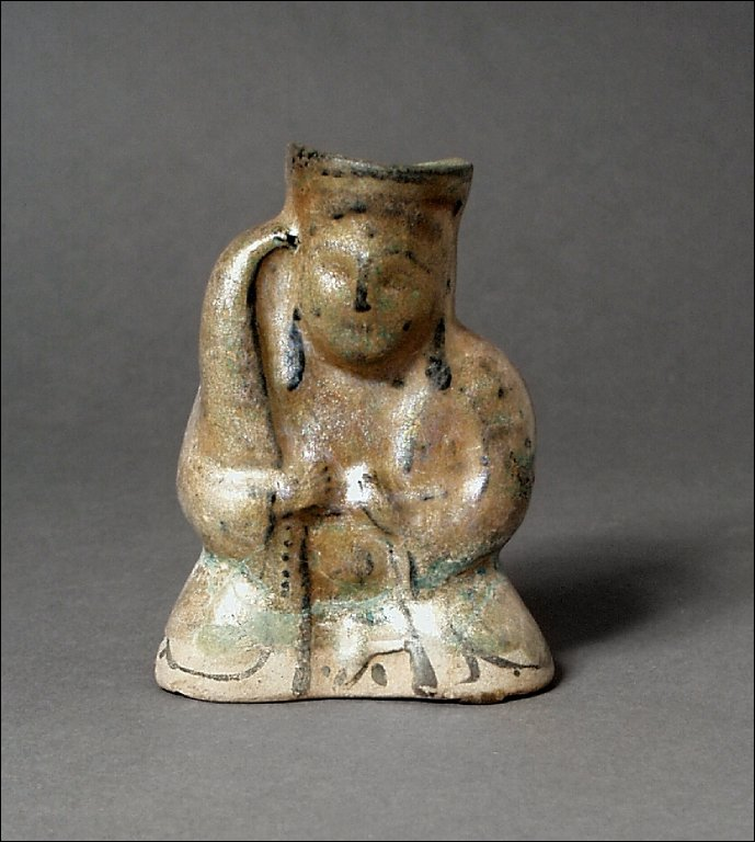 Figure of a Musician with a Harp