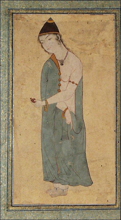 A Standing Dervish