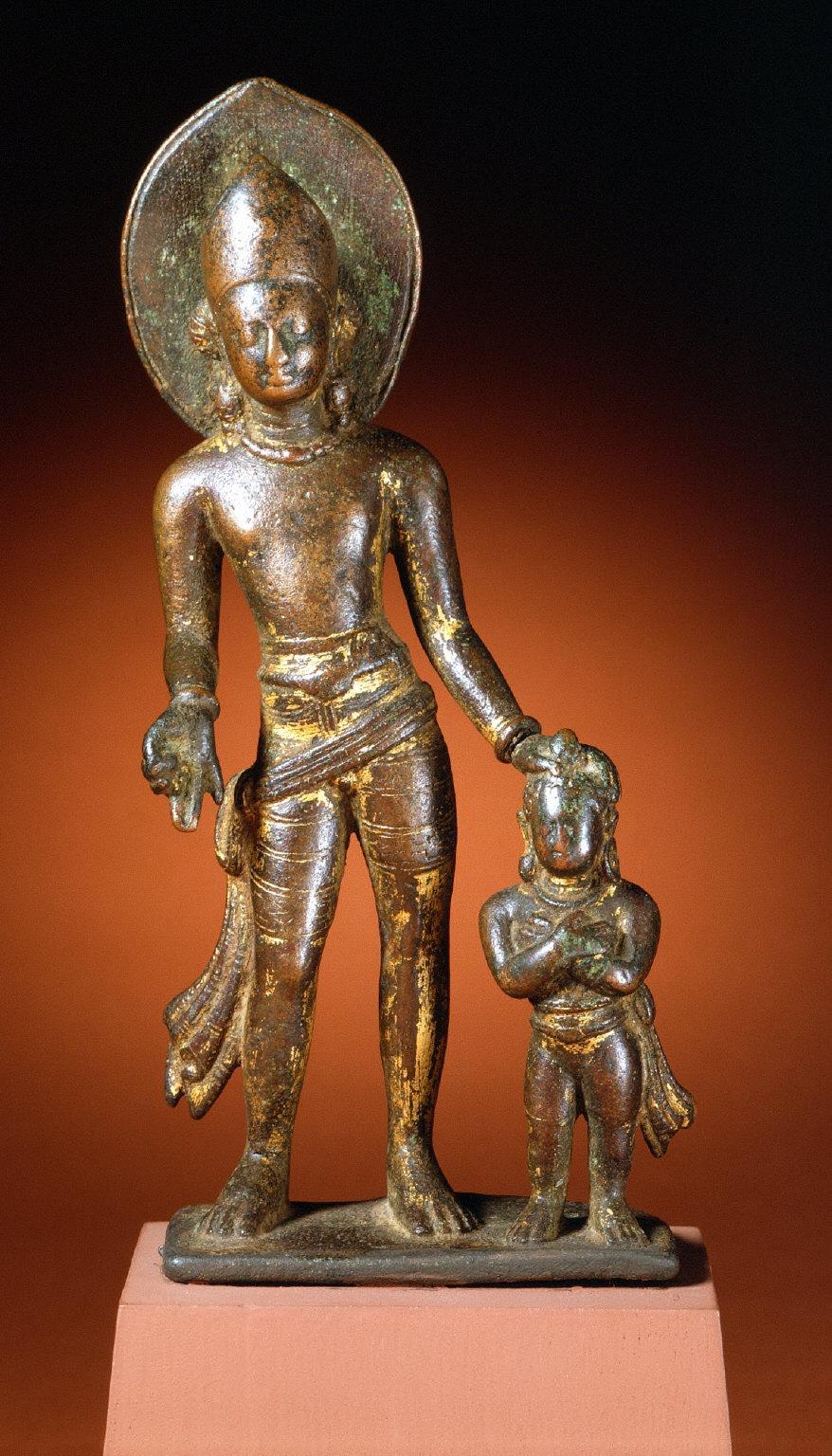 The Bodhisattva Vajrapani or the God Indra