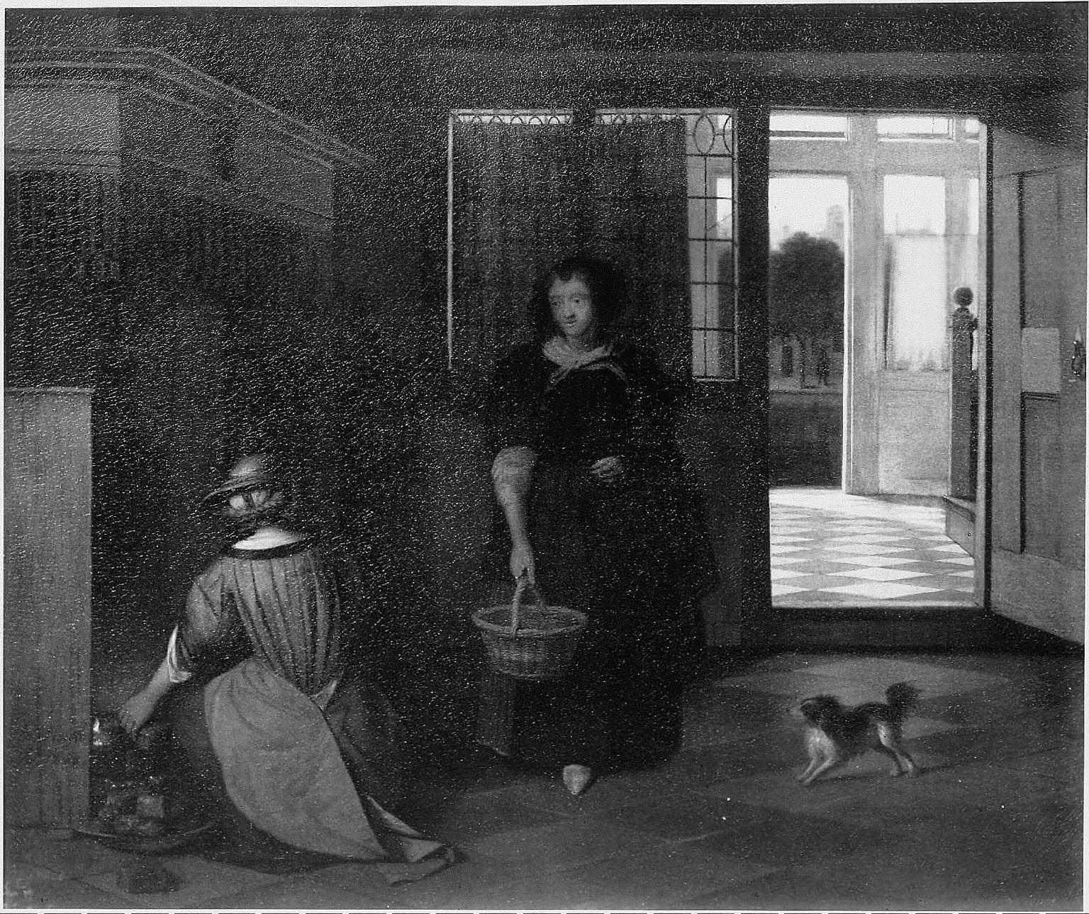 Interior of a Dutch House