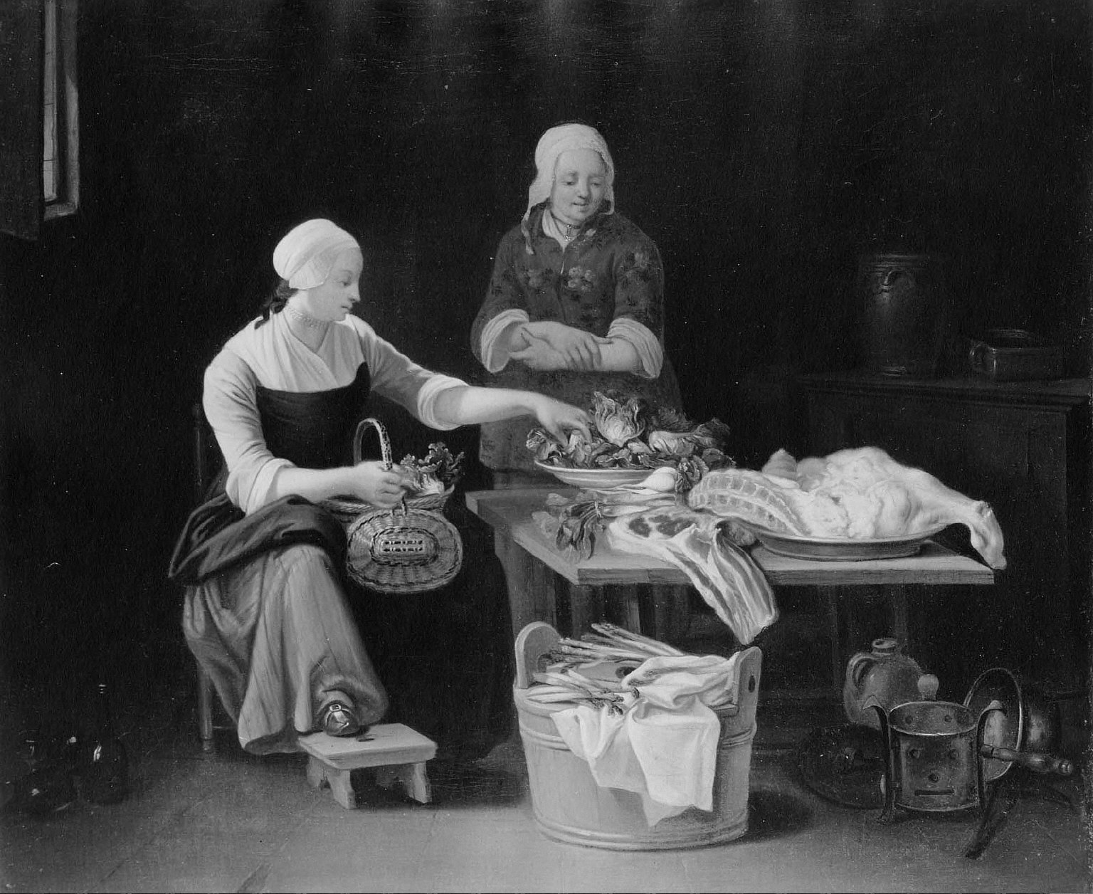 Two Women in a Kitchen