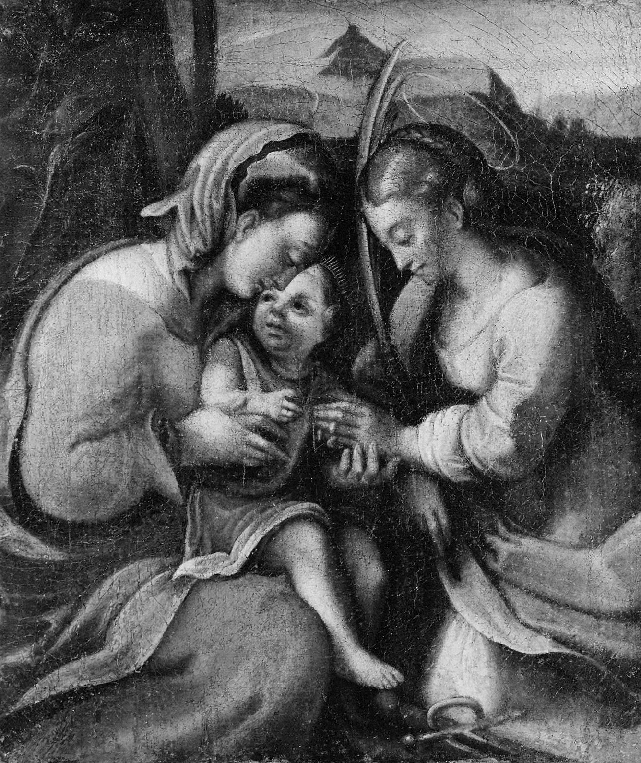 The Mystical Mariage of Saint Catherine
