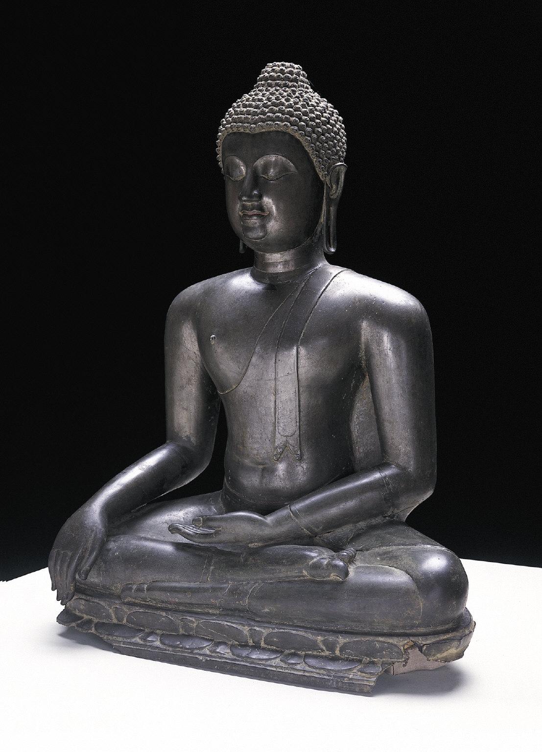 Seated Buddha Subduing Mara