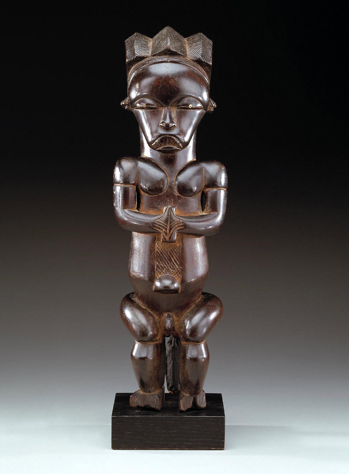 Reliquary figure, Mvai style