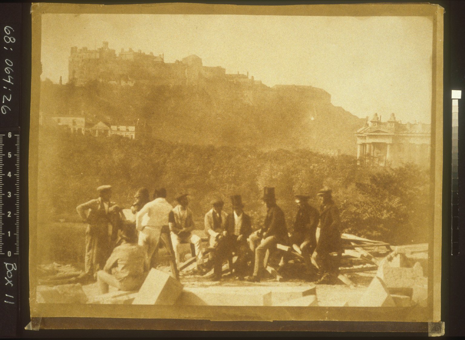 Laying Foundation of the Sir Walter Scott Monument [Edinburgh]