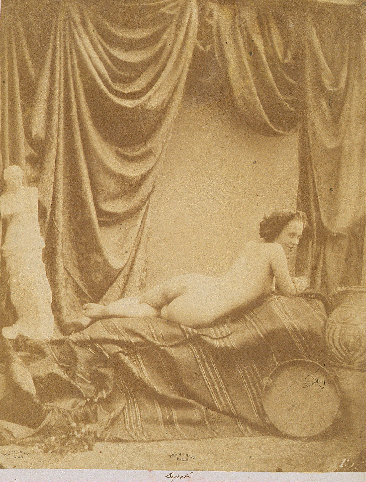 "Academic Study with ""Venus de Milo"""