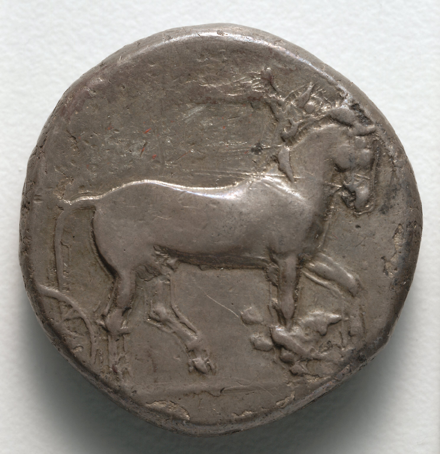 Tetradrachm: Quadriga Crowned by Victory (reverse)