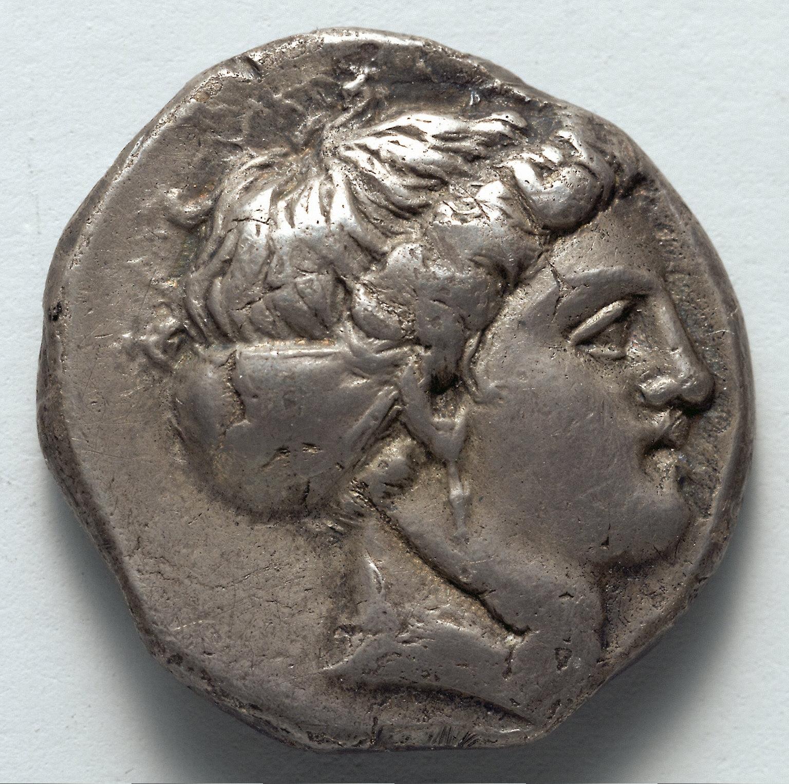 Stater: Head of Koré (obverse)